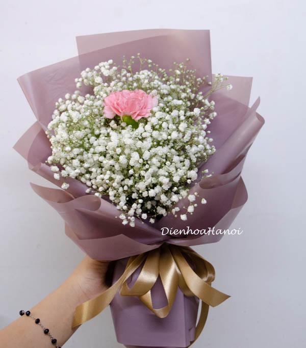 Bó hoa baby đẹp nhất. Shop hoa tươi Hà nội giá rẻ ship ...